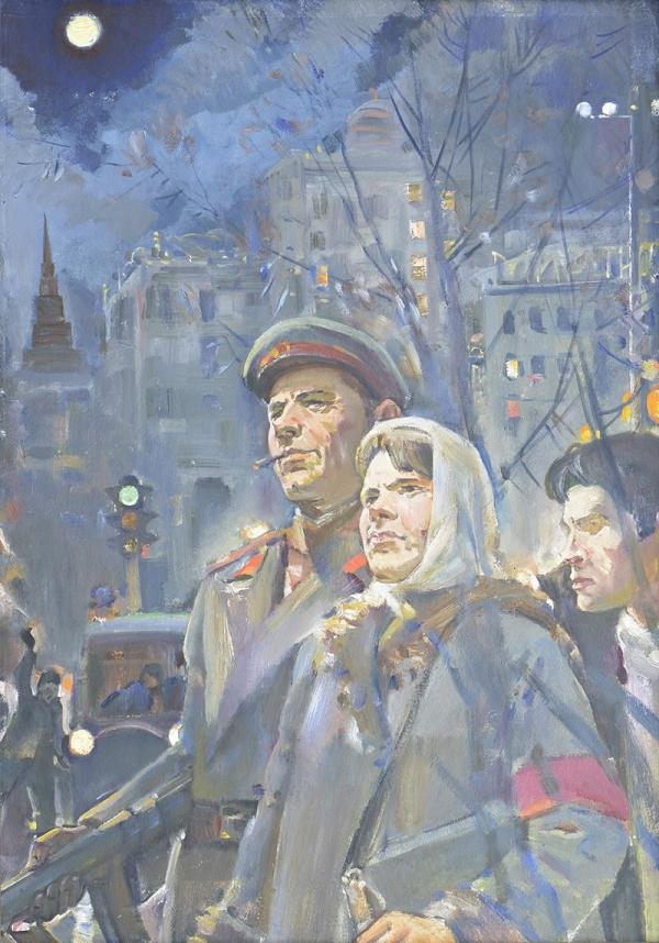 """Картина """"Ночной патруль"""", 1970-1993 гг."""