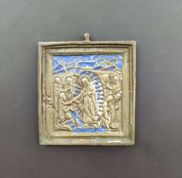 """Икона """"Воскресение Христово"""", XIX в."""