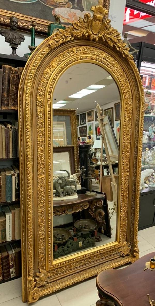 Зеркало напольное в стиле Наполеон III 1840-1870г.