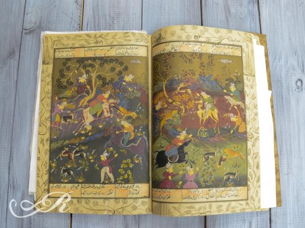 Книга рукописная, в стихах, на персидском языке