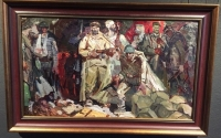 Картина «Защитники Брестской крепости», художник Старостин П.Н., сер. XX в.