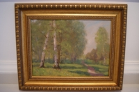 "Картина ""Начало лета"", худ. Ананьев Ю.А., 1970г."