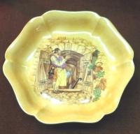 Тарелка «Винный погребок», 1955 год.