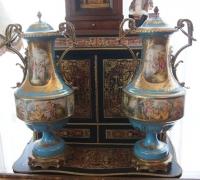 Парные вазы, Европа, XIX в.