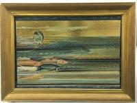 """Картина """"Море и рыбы"""", автор Архиреев"""