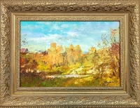Картина «Разлитое золото-2», художник Шадрин А.Ю.,  2008 г.
