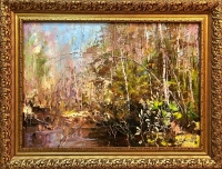 Картина «Чарующее пробуждение», художник Шадрин А.Ю., 2009 г.