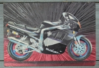 """Открытка """"Suzuki"""", Англия, кон. ХХ в."""