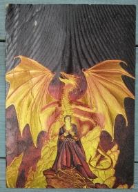 """Открытка """"Огненный дракон"""", Англия, кон. ХХ в."""