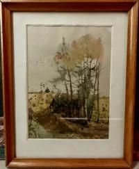 """Картина """"Осенний теплый день"""" 1931 год"""