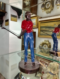 гольфистка, США, 30-е г.