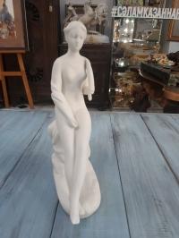 """Фарфоровая статуэтка """" Купальщица"""", бисквитный фарфор"""