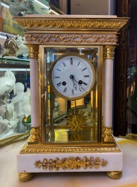 Часы настольные в стиле Ампир (Empire), Франция, XIX в.